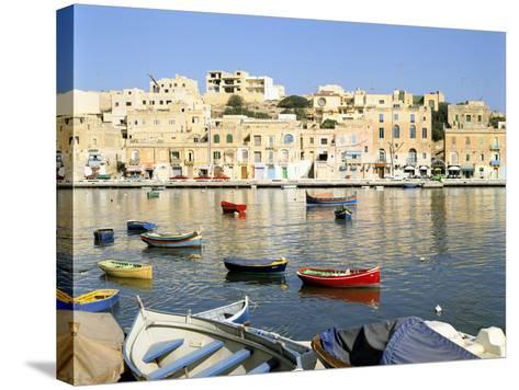 Harbour, Marsascala, Malta-Peter Thompson-Stretched Canvas Print