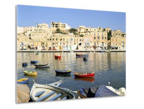 Harbour, Marsascala, Malta-Peter Thompson-Metal Print