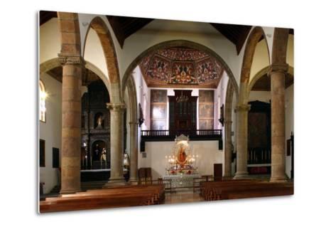 Interior, Church of Nuestra Senora De La Concepcion, La Laguna, Tenerife, Canary Islands, 2007-Peter Thompson-Metal Print