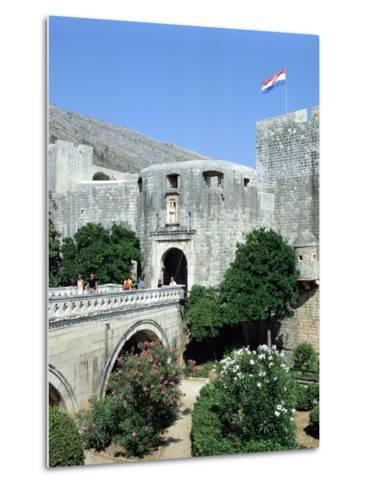 Pile Gate, Dubrovnik, Croatia-Peter Thompson-Metal Print
