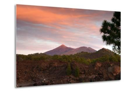 Mount Teide, Volcano on Tenerife, Canary Islands, 2007-Peter Thompson-Metal Print