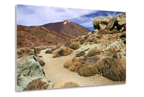 Mount Teide, Parque Nacional Del Teide, Tenerife, Canary Islands, 2007-Peter Thompson-Metal Print