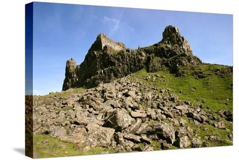 Quiraing, Isle of Skye, Highland, Scotland-Peter Thompson-Stretched Canvas Print