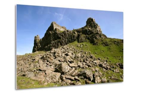 Quiraing, Isle of Skye, Highland, Scotland-Peter Thompson-Metal Print