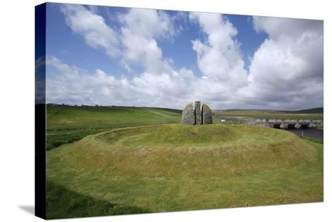 Memorial Cairn to the Grias and Coll Raiders, Isle of Lewis, Outer Hebrides, Scotland, 2009-Peter Thompson-Stretched Canvas Print