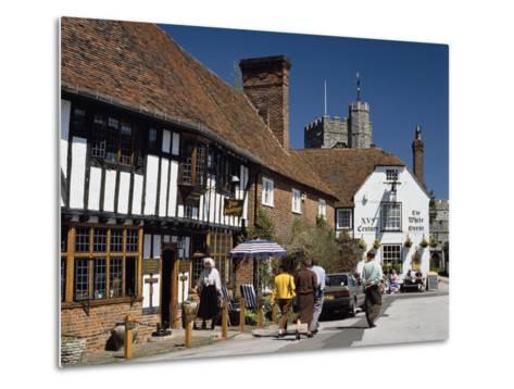 Village Square, Chilham, Kent-Peter Thompson-Metal Print