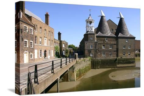 Three Mills, Lea Valley, London-Peter Thompson-Stretched Canvas Print