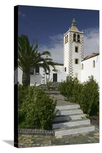 Church, Betancuria, Fuerteventura, Canary Islands-Peter Thompson-Stretched Canvas Print