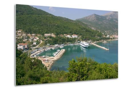 Harbour of Poros, Kefalonia, Greece-Peter Thompson-Metal Print