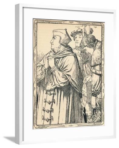 The Arrest of Cardinal Wolsey, 1902-Patten Wilson-Framed Art Print