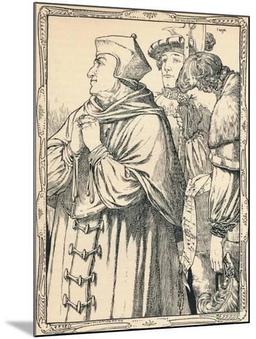 The Arrest of Cardinal Wolsey, 1902-Patten Wilson-Mounted Giclee Print