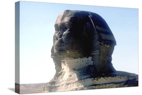The Sphinx, Giza, Egypt, Period of Khafre, 4th Dynasty, 26th Century Bc-CM Dixon-Stretched Canvas Print