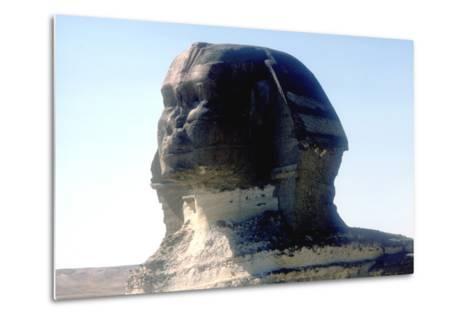 The Sphinx, Giza, Egypt, Period of Khafre, 4th Dynasty, 26th Century Bc-CM Dixon-Metal Print