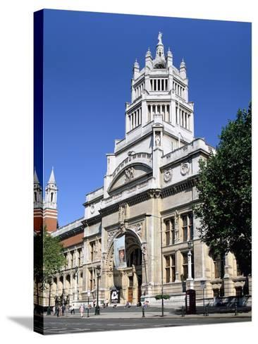 Victoria and Albert Museum, South Kensington, London-Peter Thompson-Stretched Canvas Print