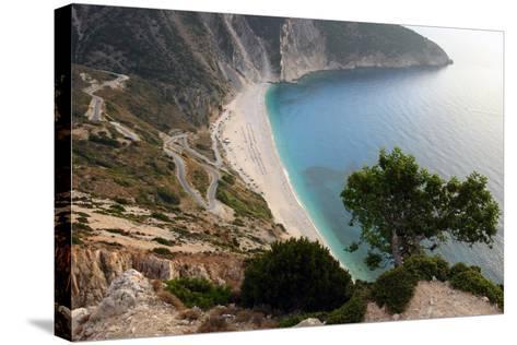 Mirtos Beach, Kefalonia, Greece-Peter Thompson-Stretched Canvas Print