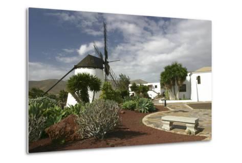 Windmill, Antigua, Fuerteventura, Canary Islands-Peter Thompson-Metal Print