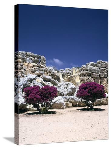 A Megalithic Temple Complex, Ggantija, Gozo, Malta, 20th Century-Peter Thompson-Stretched Canvas Print