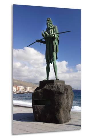 Guanche Statue, Candelaria, Tenerife, 2007-Peter Thompson-Metal Print