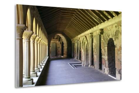 Cloisters of Iona Abbey, Argyll and Bute, Scotland-Peter Thompson-Metal Print