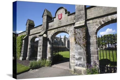 St Andrews University, Fife, Scotland, 2009-Peter Thompson-Stretched Canvas Print