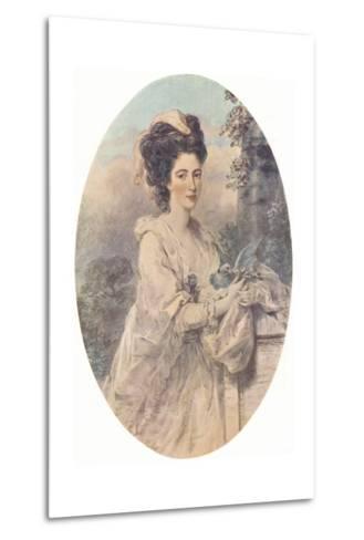Miss Isabella Hunter, 1781, (1907)-John Downman-Metal Print