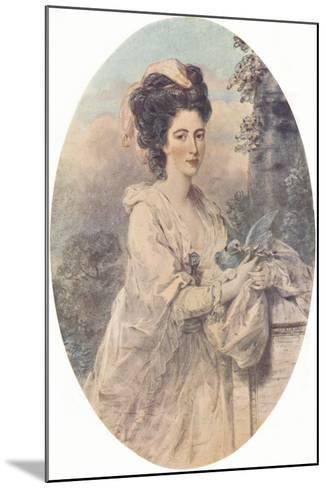 Miss Isabella Hunter, 1781, (1907)-John Downman-Mounted Giclee Print