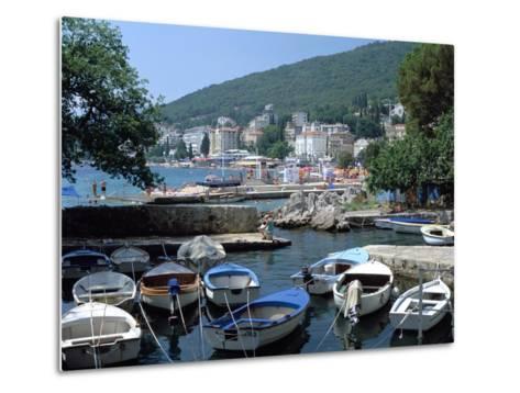 Harbour, Opatija, Croatia-Peter Thompson-Metal Print