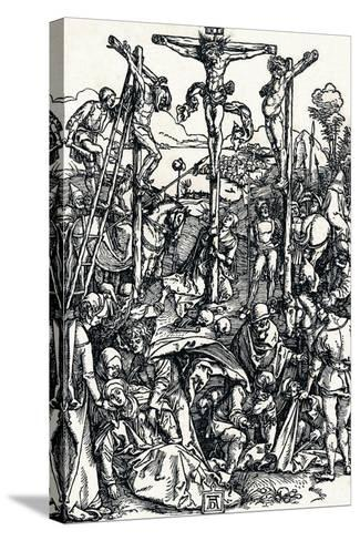Calvary with the Three Crosses, 1504-Albrecht D?rer-Stretched Canvas Print