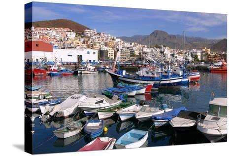 Harbour, Los Cristianos, Tenerife, Canary Islands, 2007-Peter Thompson-Stretched Canvas Print