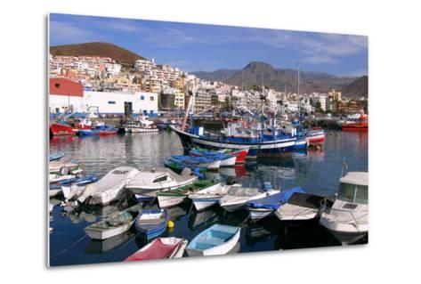 Harbour, Los Cristianos, Tenerife, Canary Islands, 2007-Peter Thompson-Metal Print