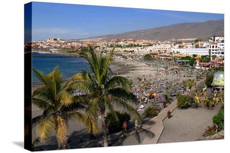 Playa De Torviscas Beach, Playa De Las Americas, Tenerife, Canary Islands, 2007-Peter Thompson-Stretched Canvas Print