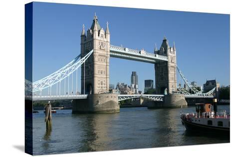 Tower Bridge, London-Peter Thompson-Stretched Canvas Print