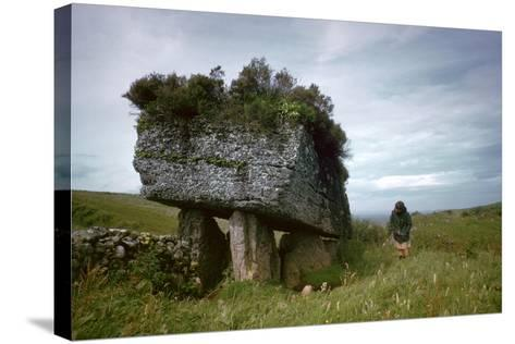 Portal-Grave known as the Lobby-CM Dixon-Stretched Canvas Print
