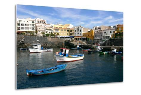 Harbour of Los Abrigos, Tenerife, Canary Islands, 2007-Peter Thompson-Metal Print