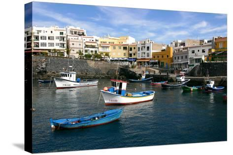 Harbour of Los Abrigos, Tenerife, Canary Islands, 2007-Peter Thompson-Stretched Canvas Print