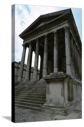 Maison Carree, the Only Intact Roman Temple, 1st Century Bc-CM Dixon-Stretched Canvas Print