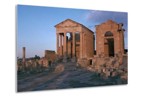 Temples in the Forum of Sufetula, 2nd Century-CM Dixon-Metal Print