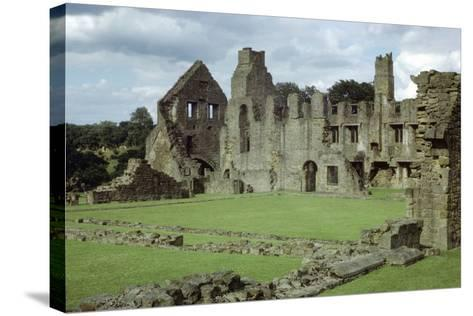 Easby Abbey, Yorkshire, Founded 1152-CM Dixon-Stretched Canvas Print