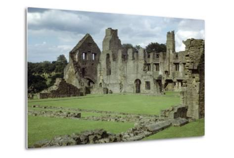 Easby Abbey, Yorkshire, Founded 1152-CM Dixon-Metal Print