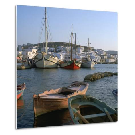 Noussa Harbour in the Evening-CM Dixon-Metal Print