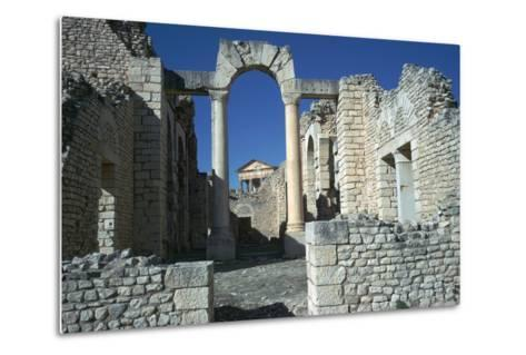 Roman City of Thugga, 2nd Century-CM Dixon-Metal Print