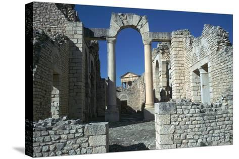 Roman City of Thugga, 2nd Century-CM Dixon-Stretched Canvas Print