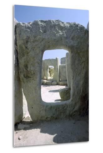 Hagar Qim Temple on Malta, 3rd Century Bc-CM Dixon-Metal Print