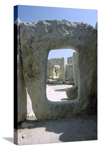 Hagar Qim Temple on Malta, 3rd Century Bc-CM Dixon-Stretched Canvas Print