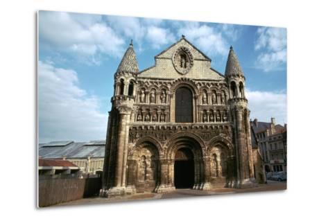 West Front of Notre Dame, 12th Century-CM Dixon-Metal Print