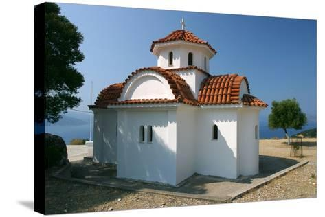 Monastery of Agrilion Church, Kefalonia, Greece-Peter Thompson-Stretched Canvas Print