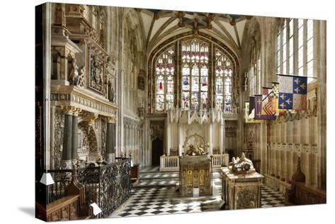 Beauchamp Chapel, the Collegiate Church of St Mary, Warwick, Warwickshire, 2010-Peter Thompson-Stretched Canvas Print