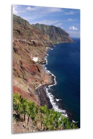 Anaga Coastline, San Andres, Tenerife, Canary Islands, 2007-Peter Thompson-Metal Print