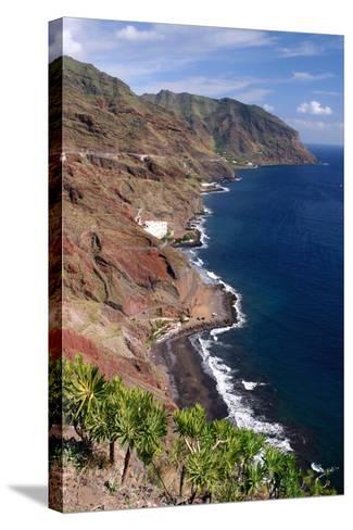 Anaga Coastline, San Andres, Tenerife, Canary Islands, 2007-Peter Thompson-Stretched Canvas Print