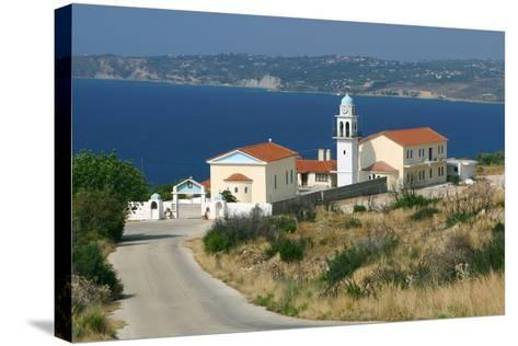 Monastery of Sissia, Kefalonia, Greece-Peter Thompson-Stretched Canvas Print